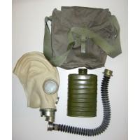 Puolalainen MP-3 kaasunaamari + laukku