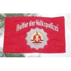 DDR kansanpoliisin käsivarsinauha