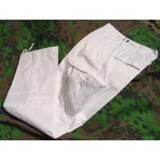 BDU-housut valkoinen
