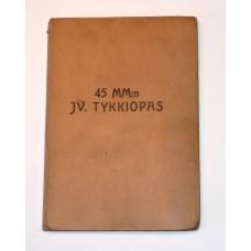 45mm:n Jv. tykkiopas