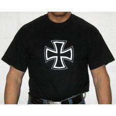Rautaristi T-paita, musta