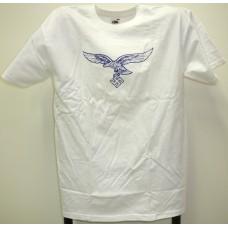 Luftwaffe t-paita valkoinen