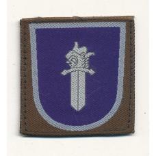 Sotilaspoliisin koulutushaaramerkki